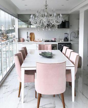 Olha que chique essa varanda / sala de jantar projetada pela querida @arq.rebecasouza  #ideiasdiferentes  Confiram também o perfil @espacos.decorados do #grupojsmais