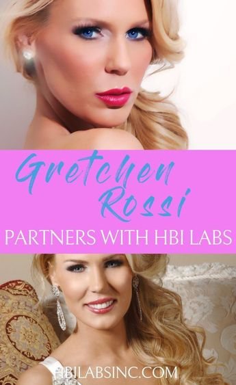 Gretchen Rossi Partners as Celebrity Endorser for HBI Labs