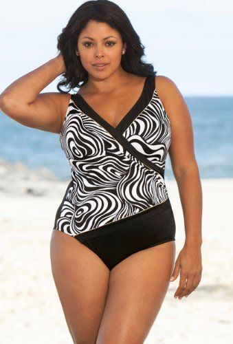 30c172da6a Longitude Sand Dunes Plus Size Surplice Swimsuit Women's Swimsuit  Longitude. $49.50