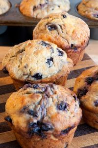 Cooking Pinterest: Weight Watcher's Healthy Blueberry Muffins Recipe