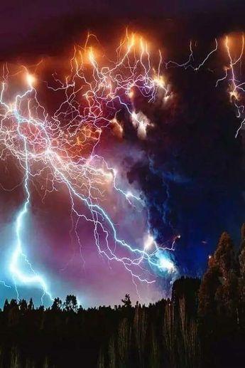 Thunder Scary but beautiful