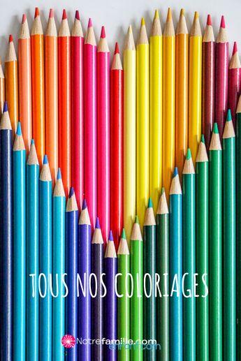 Coloriages: Tous nos coloriages à imprimer