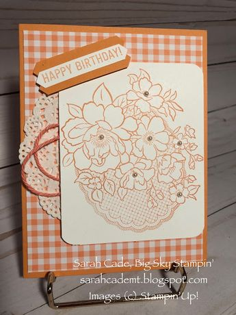 Big Sky Stampin': Who's ready to see some Sneak Peeks from upcoming Sale-A-Bration??!!
