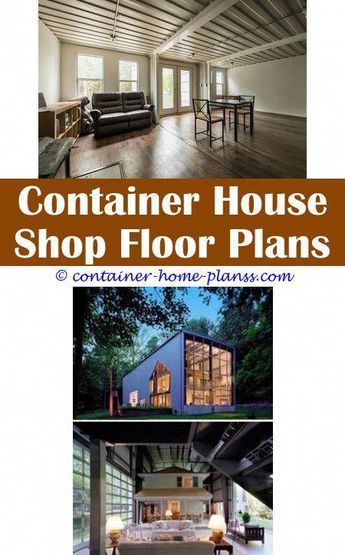 Storage Container Home Plans