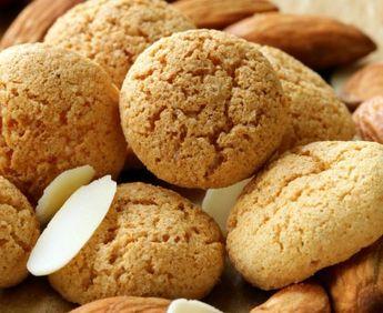 Macarons aux amandes (petits fours)