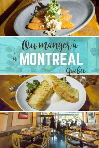 Où manger à Montréal : mon expérience MTL à Table
