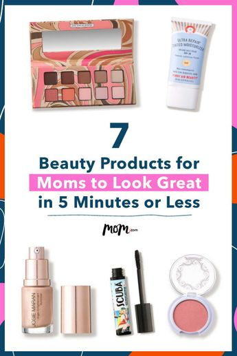 7 Beauty Products for Moms to Look Great in 5 Minutes or Less: For the makeup-loving mom, these products will help put you on the fast-track to that gorgeous look.