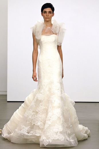 Vera Wang's Fall 2013 Bridal Collection from New York Bridal Fashion Week
