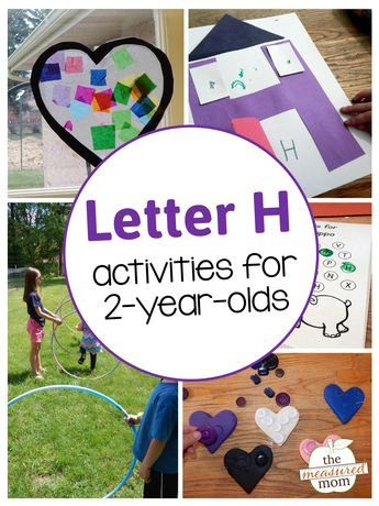 letter h activities for 2 year olds