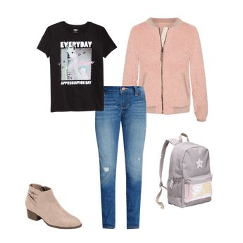 Graphic Crew-Neck Tee for Girls  | Old Navy