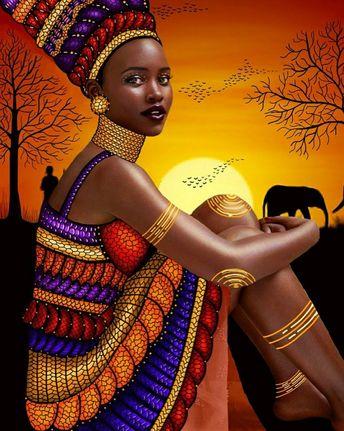 Photographer- Mert Alas and Marcus Piggott #blackart #nubianart #beautiful #royal #dopeblackart
