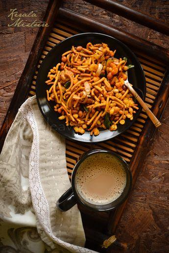 Kerala mixture -popular South Indian snack recipe