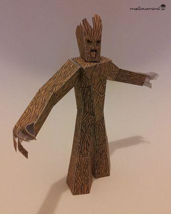 Groot papercraft download