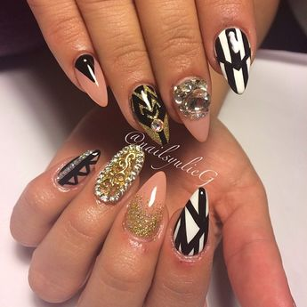 64 Gorgeous Almond Nails Designs