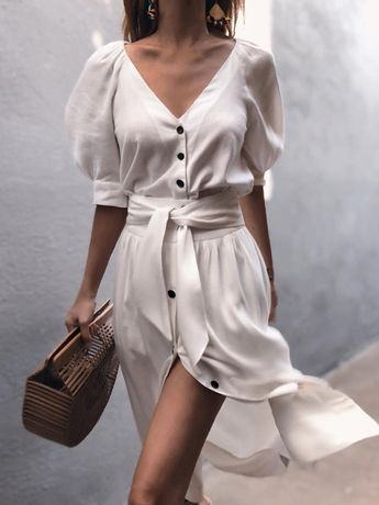 Shop Casual Dresses Puff Sleeve Button Through Belted #CasualDress Shop Women's Trendy Clothes. 10% Off For First Order. Free Shipping - Shop Now! Latest & New Styles. VIP Service. 10% Off Your First Order. Wholesale Price. Types: #Dresses, #Jumpsuits, #Swimwear, #Tops, #Bottoms, #Lingerie, #Shoes, #Accessories.