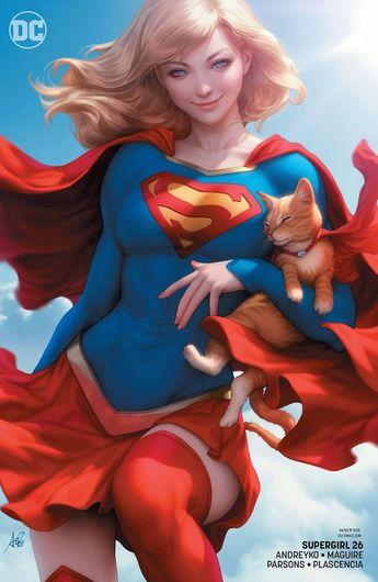 "DC Supergirl #26 Comic Book [Stanley ""Artgerm"" Lau Variant]"