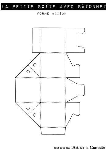 Boîte maison bâtonnet