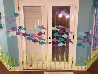 Under the sea/mermaid themed birthday party