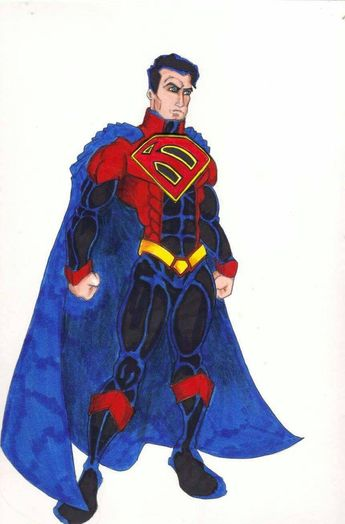 Superman Redesign 1 by FrischDVH on DeviantArt