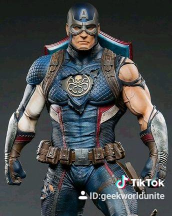 #hydra #hailhydra #captainamerica #captain #marvel #mcu #statue #endgame #avengers