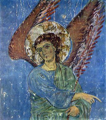 sophie.keburia: სააღდგომო გაკვეთილი. ყინწვისის ანგელოზი. Easter activity. Kintsvisi Angel