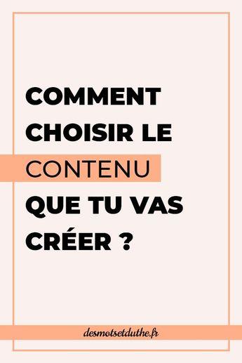 Création de contenu : comment choisir le bon média ?