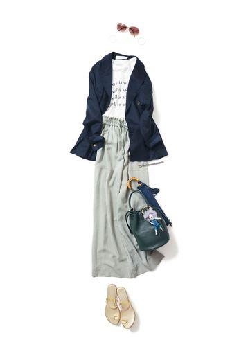 Relaxフレンチマリン / コーディネート詳細 / Kyoko Kikuchi's Closet | 菊池京子のクローゼット [ K.K closet ]