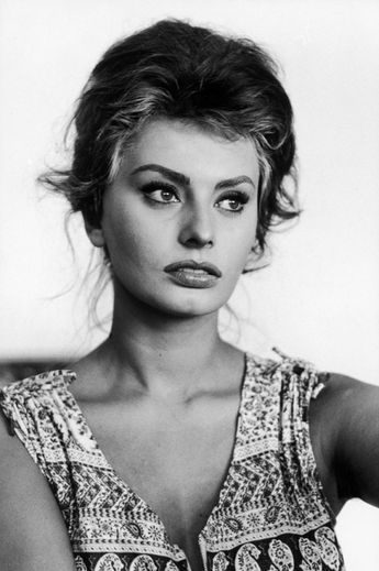 Sophia Loren in Italy, 1961. Photo by Alfred Eisenstaedt.