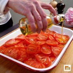Crumble de tomates : Recette de Crumble de tomates - Marmiton #RecetteRapideDejeuner