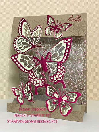 Beauty Abounds Tent Card by Denise603 - Cards and Paper Crafts at Splitcoaststampers