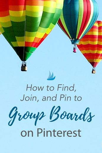 How to Find, Join, and Pin to Group Boards on Pinterest