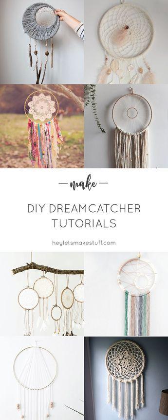 10+ DIY Dreamcatcher Tutorials