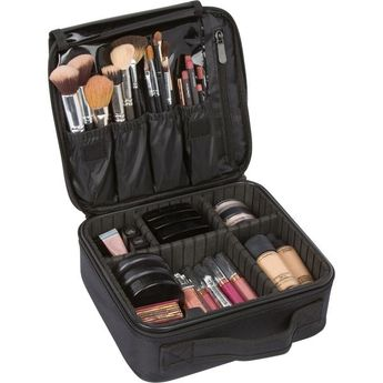 Cosmetic travel organizer- med
