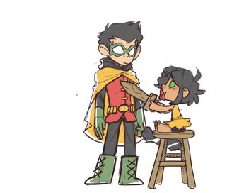 Recently shared damian wayne funny mari grayson and ideas & damian