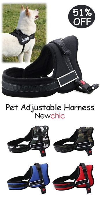 【51% off】K8 Safety Lock Break Resistant Pet Harness Adjustable Harness for Large Dogs.#dog #pet #petdecor