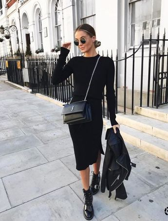 All Black Outfit Ideas to Copy This Week