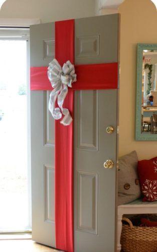 Decoração de Natal - 9 portas decoradas para você se inspirar. - Conexao Decor