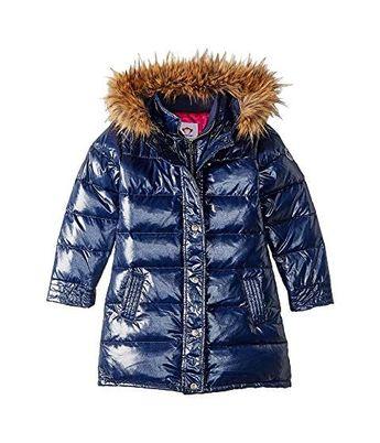 20b8bbe38 $62.99 (50% OFF) - Appaman Kids Long Down Coat with Faux Fur Hood