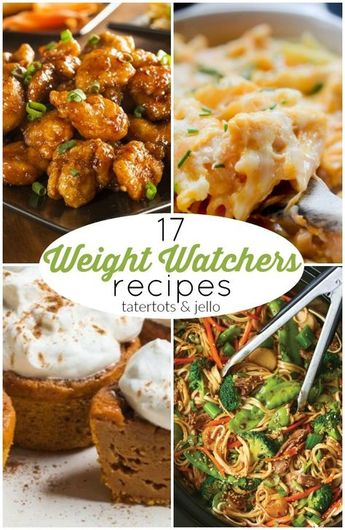 17 Warm and Comforting Fall Weight Watchers Recipes!