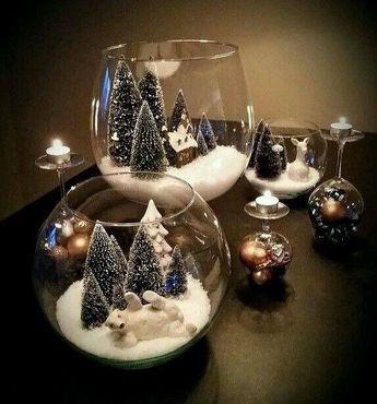 Inspiração do dia para sua Decoração de Natal!!!🌲🎅 #decoracaonatalina #natal #cores #decoracaodeinteriores #artesanato #organização…