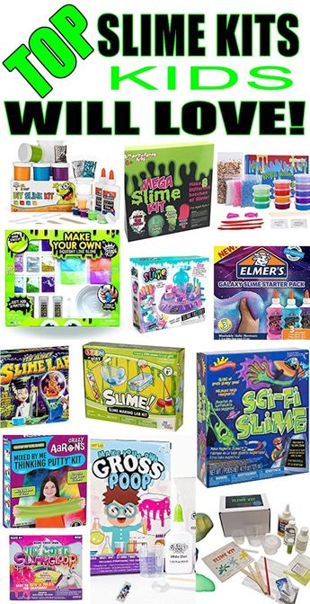 e08770159 Slime Kits Kids Will Love! Make your own slime with these fun & easy slime