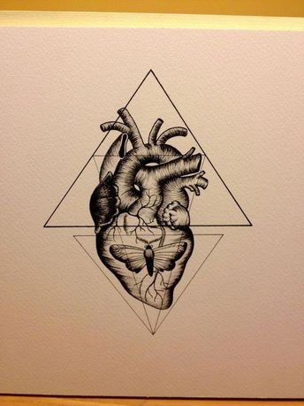 I like this >> geometric coronary heart tattoo - Google Search... #geometrictattoos