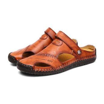 Men Outdoor Non-slip Walking Closed Toe Water Sandals