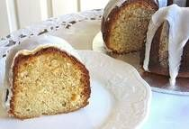 Easy Almond Bundt Cake Recipe with Almond-Flavored Icing