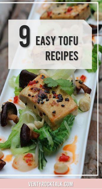 Easy Tofu Recipes