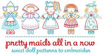 Tada! Pretty maids ~ all in a row