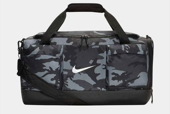 b05b3ff27c Nike Sports Duffle Boston Bag Backpacks Swoosh Gym Sports Gray Golf  BA5801-060  Nike