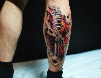Tatuajes Biomecanicos Con Motivos De Ro