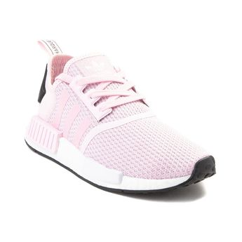 d3a43d3428f Womens adidas NMD R1 Athletic Shoe - Pink White Black - 436695