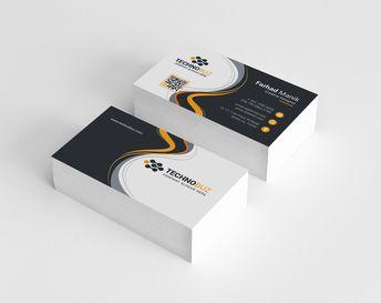Panda Corporate Business Card Template - Graphic Templates